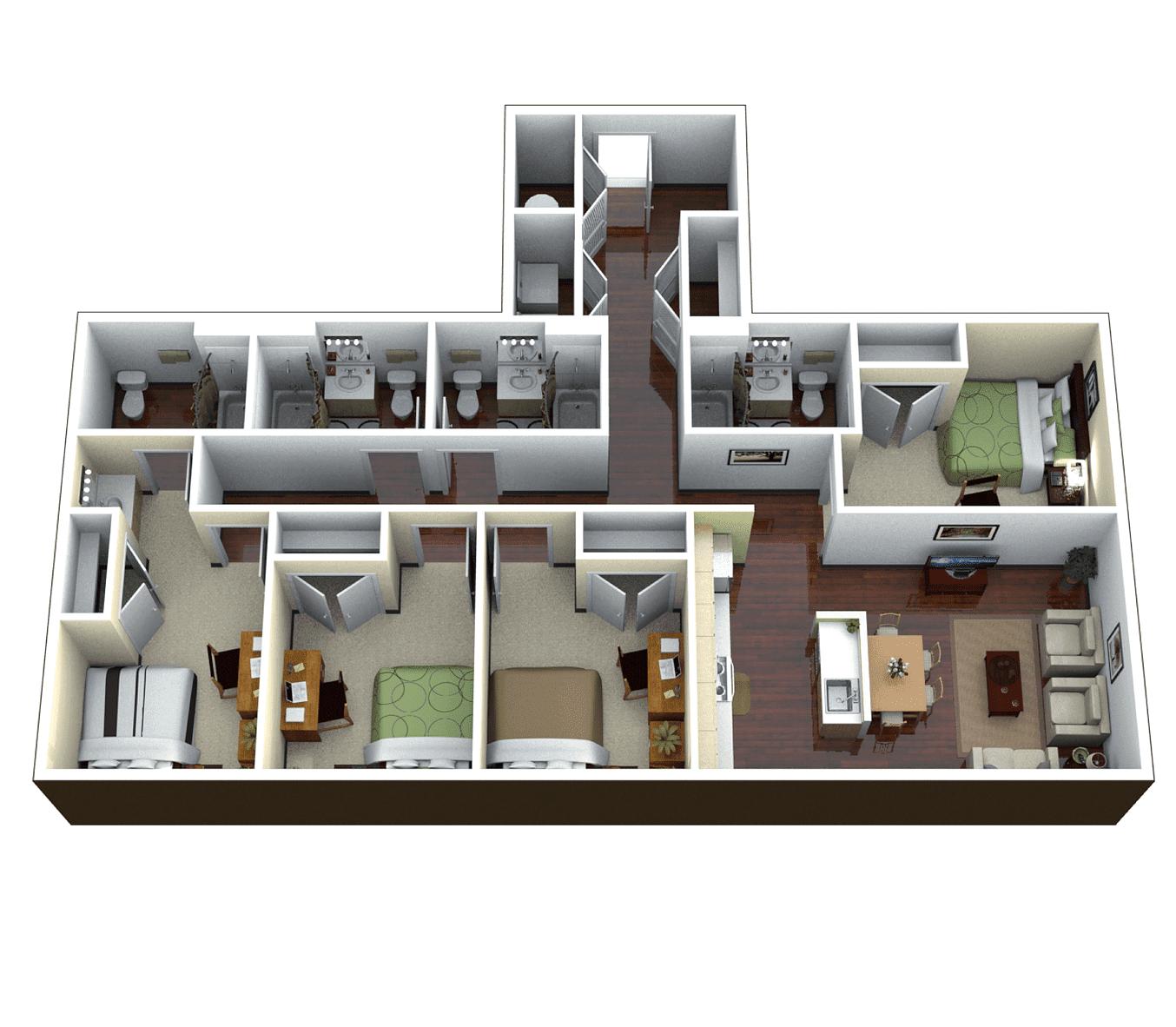 Park Place Apartments Gainesville: The Continuum Apartments Gainesville, FL